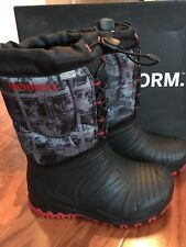 NWT Merrell Boys Snow Quest Waterproof Winter Boots sz 13