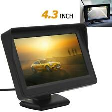 2-CH Video Input 4.3Inch 480x 272 TFT LCD VCR DVD Sunshade Car Rear View Monitor
