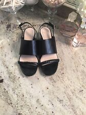 Cole Haan Grand.OS Size 7 1/2 Black Sandals  Womens Shoes Wedge