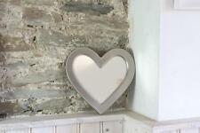 Biggin and Sage Heart Shaped Mirror Sturdy metal Frame with Wall hook Mirror