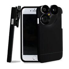 Camera Lens Kit Fish Eye / Macro / Wide Angle / Telephoto Lens Case For iphone 7