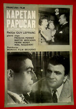 CAPTAIN SLIPPER 196 FRENCH PERIER MERCADIER BROCHARD LEFRANC EXYU MOVIE POSTER