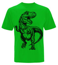 Infantil Dinosaurio Camiseta 3-13 Años Niños y Niñas Jurásico Regalo T-Rex z1