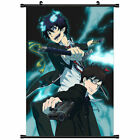 Blue Exorcist Japan Anime Scroll Poster Wall Art Canvas Print Dorm Room Decor