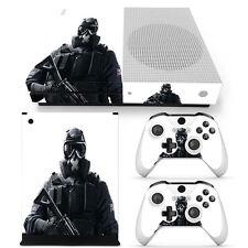 XBOX ONE S Skin Design Foils Aufkleber Schutzfolie Set - Soldier Motiv