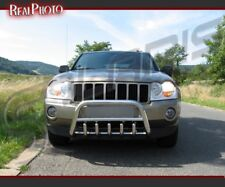 JEEP GRAND CHEROKEE 05-08 SET OF BULL BAR AND REAR BAR / STAINLESS STEEL