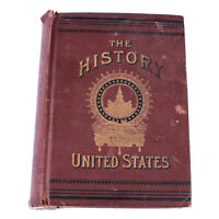 Antique Lossing's Complete History of the United States Illustrated - Vol 1 & 2