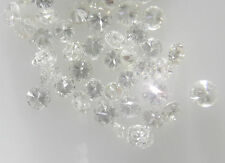 Brilliant Natural Loose Diamond 1Pcs V2 Clarity1.5mm G-H White Hearts&Arrows Cut