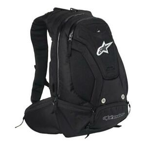 Alpinestars Motorbike Motorcycle Ruck Sack Charger Back Pack Black 17L