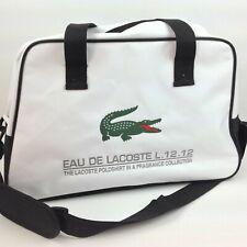 Lacoste Alligator Duffle Bag Weekender Gym Travel Sports Perfume Tote Shoulder