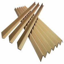More details for 50 strong cardboard 1 metre pallet edge guards protectors 35mm l shape  profile
