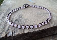 Rose quartz Anklets,Pink anklets,Stone anklets,Women anklets,4mm stone