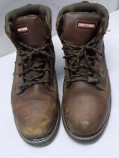 Craftsman Steel Toe Waterproof Anti Slip Work Boots Oil Resist Size 10 W