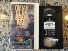 THE FALL OF THE BERLIN WALL RARE VHS! NOT ON DVD! 1990 DOCUMENTARY NEWS FOOTAGE!