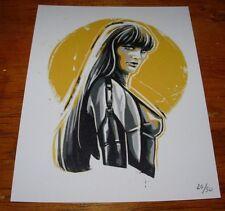 THE WATCHMEN handbill poster SILK SPECTRE art print robert bruno