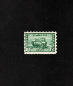 CANADA MNH 13 CENT GREEN RAM TANK STAMP SCOTT # 258