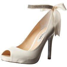 58670a9c0c08 Nina Women s Satin Shoes