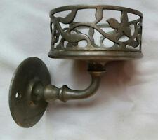 Antique Cup Glass Holder J.L. MOTT IRON WORKS Nickel
