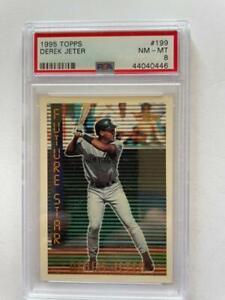 1995 Derek Jeter Topps Future Star PSA 8 HOF NY Yankees