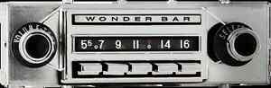 1958-62 Chevrolet Corvette Wonderbar AM/FM Bluetooth® Radio