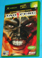 Tao Feng - Fist of the Lotus - Microsoft XBOX - PAL