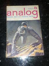 ANALOG : SCIENCE FACT SCIENCE FICTION - Vol XVIII No 8 - 08/1962 UK Edition