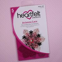 Heartfelt Creations Cut&Emboss Dies ~ Arianna Lace, HCD2-747 ~ NIP