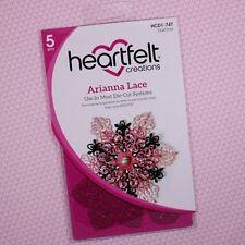 Heartfelt Creations Cut&Emboss Dies ~ Arianna Lace, HCD2-747 ~ NIP