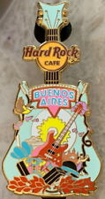 Hard Rock Cafe BUENOS AIRES 2018 City Tee T-Shirt GUITAR Series PIN - HRC #98455