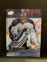 PAVEL FRANCOUZ 2020-21 UD SERIES ONE HOCKEY YOUNG GUNS ROOKIE RC