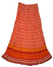 Cotton Skirt Indian Hippie Kjol Boho Ethnic Gypsy Jupe Falda Retro Women Ehs