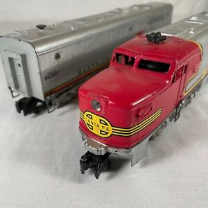 American Flyer #473 Santa Fe Non Powered Diesel # 471 Dummy Unit Not Tested