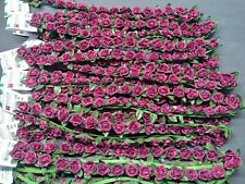 3 Foot Rose Bands. Silk Flowers Crafts, 12 Bands