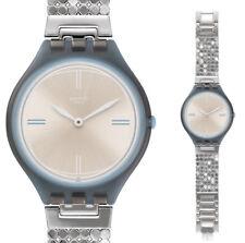 Swatch Skin Skinscreen S Reloj SVOM101GB Análogo Acero Inoxidable Plata