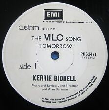 RARE- White Label PROMO SINGLE- Kerrie Biddell- Australia's No One Jazz Singer!