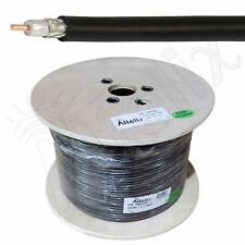 Altelix AX240FR LMR240 Type RG8X Flexible Low Loss Cable 500 Foot Reel 500 FT