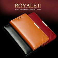 Genuine Real Leather Magnetic Wallet Flip Case Cover For iPhone 11 Pro XS Max Xr