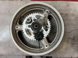 2001 SUZUKI SV650S REAR WHEEL incl. ROTOR and SPROCKTES/SPACERS