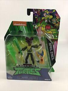 Rise Of The Teenage Mutant Ninja Turtles April O'Neil Action Figure Friend New