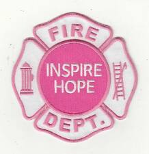 "Breast Cancer Awareness Inspire Hope Patch (4"")"