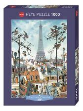 JEAN-JAQUES LOUP - EIFFEL TOWER - Heye Puzzle 29358 - 1000 Pcs. NEU