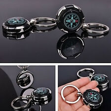Portable MINI Sports Outdoor Hiking Metal Precise Keychain Compass Ring Pro.