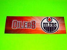 EDMONTON OILERS CANADA NHL HOCKEY TEAM CAR TRUCK BUMPER TOOL BOX DECAL STICKER