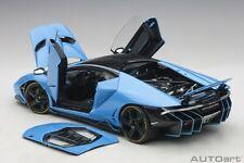 Autoart 2017 LAMBORGHINI CENTENARIO LP770-4 BLU CEPHEUS/METALLIC LIGHT BLUE 1/18