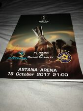 Astana V Maccabi Tel Aviv 19th October 2017 Europa League