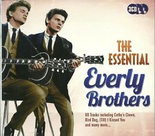 THE ESSENTIAL EVERLY BROTHERS 3 CD Ic Cathy's Clown (Till) I Kissed You Bird dog