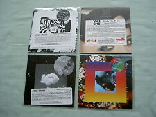 VAN SHE job lot of 4 promo CD album/singles Idea Of Happiness Cat & The Eye