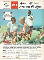 1962 Original Advertising' Vintage Bea Airways Airlines British Sun Tanning