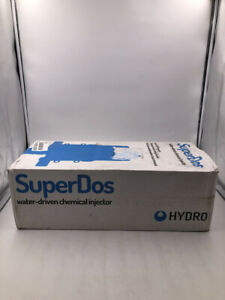HYDRO SUPERDOS 30 WATER DRIVEN CHEMICAL INJECTOR HYD113209