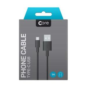 Samsung S8,S8 Plus,S9,S10,S10+ Type C USB Fast Charge Genuine cable lead by Core